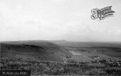 Poynings, View From Devil's Dyke c.1955