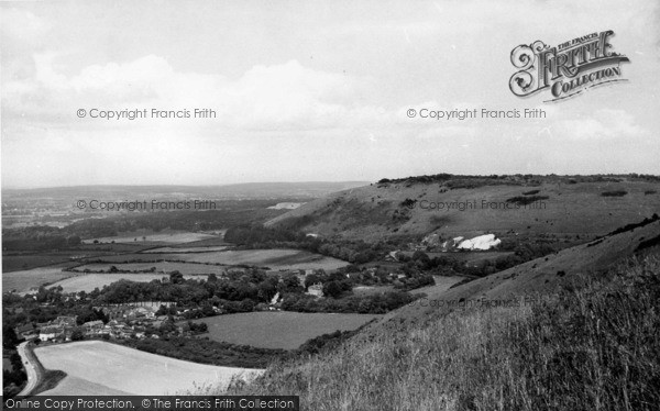 Photo of Poynings, View From Devil's Dyke c.1955
