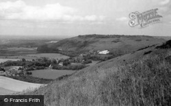 View From Devil's Dyke c.1955, Poynings