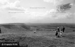 Poynings, View From Dyke Hills c.1955