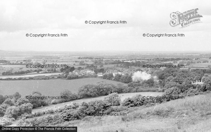 Photo of Poynings, View From Dyke Hills c.1955
