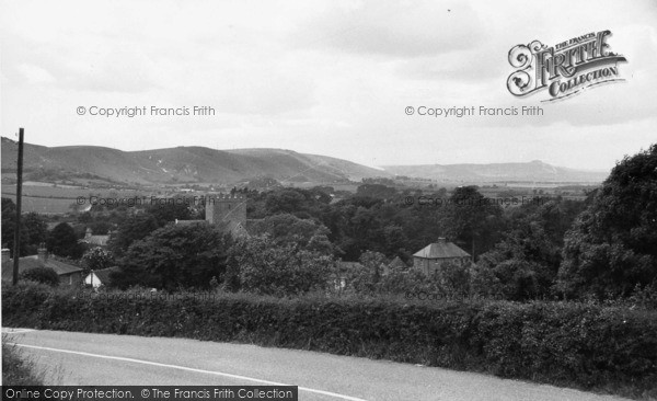 Photo of Poynings, View From Saddlescombe Hill c.1955