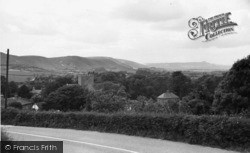 Poynings, View From Saddlescombe Hill c.1955