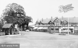 Poynton, Fountain Square c.1965