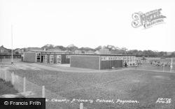 Poynton, Lower Park Primary School c.1965