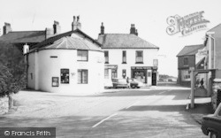Post Office And Shops c.1965, Preesall