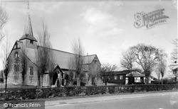 St Oswald's Church c.1955, Preesall