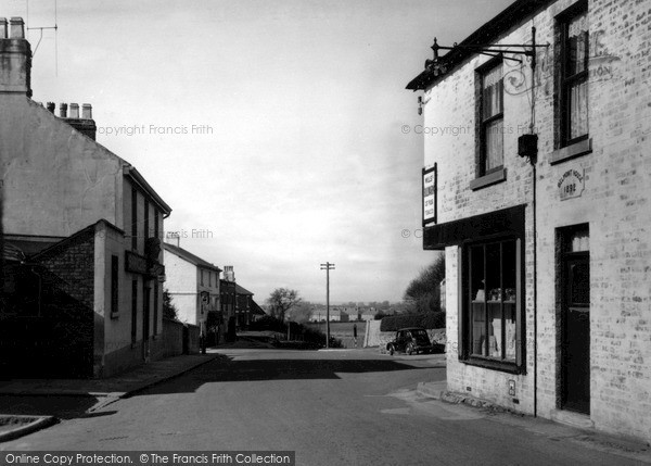 Photo of Preesall, The Post Office c.1955