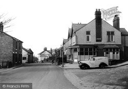 The Village From The South c.1955, Preesall