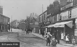 High Street c.1910, Prescot