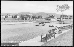 Boating Pool, Ffrith Beach c.1935, Prestatyn