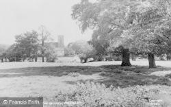 Prestbury, A View Of The Church c.1955