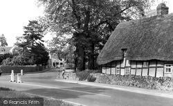Prestbury, Bouncers Lane And Blacksmith's Lane c.1960