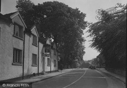 Prestbury, Bridge House And Village c.1950