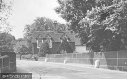 Prestbury, Cottage By The Bridge c.1950
