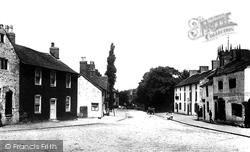 Prestbury, High Street 1896
