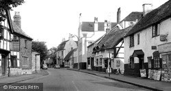 Prestbury, High Street c.1960