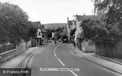 High Street c.1965, Prestbury