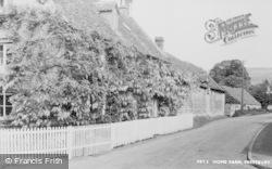 Prestbury, Home Farm c.1955