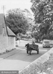 Prestbury, Horse And Cart c.1955