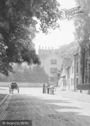 Prestbury, Horse And Cart In The Village 1896