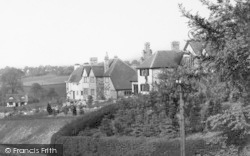 Prestbury, Houses By The Golf Course c.1955