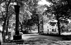 Prestbury, Mottram Cross c.1955