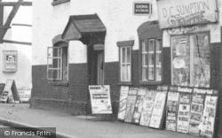 Prestbury, Newsagent, High Street c.1960