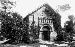 Prestbury, Norman Chapel 1896