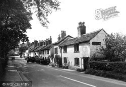 Prestbury, Old Cottages c.1950