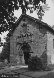 Prestbury, Old Norman Chapel, 11th Century c.1935