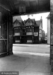 Prestbury, Old Priest House Through Lych Gate c.1955