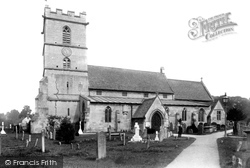 Prestbury, St Mary's Church 1901