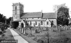 Prestbury, St Mary's Church c.1960