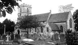 Prestbury, St Mary's Church c.1965
