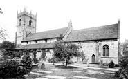 Prestbury, St Peter's Church 1896