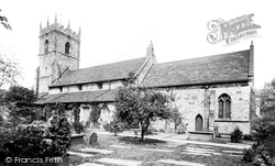 Prestbury, St Peter's Church 1896