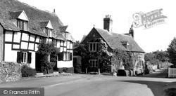 Prestbury, The Burgage c.1960