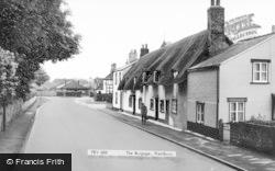 Prestbury, The Burgage c.1965