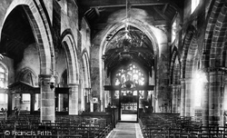 Prestbury, The Church Interior 1896