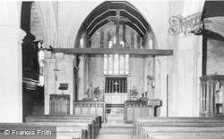 Prestbury, The Church Interior c.1960