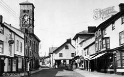 Presteigne, Broad Street c.1955