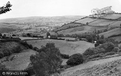 Cwmadee From Upper Thorn c.1960, Presteigne