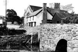 Presteigne, Lugg Bridge c.1955