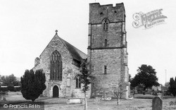 St Andrew's Parish Church c.1960, Presteigne