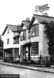 Presteigne, The Bull Hotel c.1955