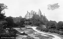 Avenham Park And The Park Hotel 1893, Preston
