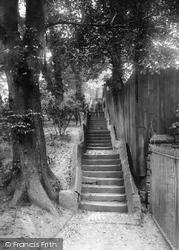 Avenham Park, The Forty Steps 1924, Preston