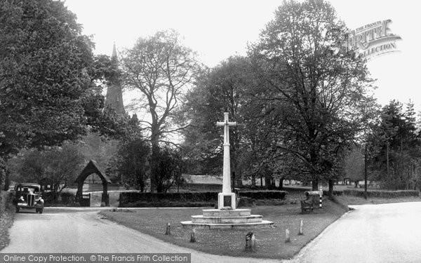 Photo of Preston Candover, The Church And Green c.1960