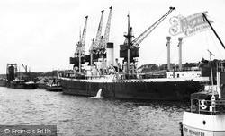 Docks c.1955, Preston
